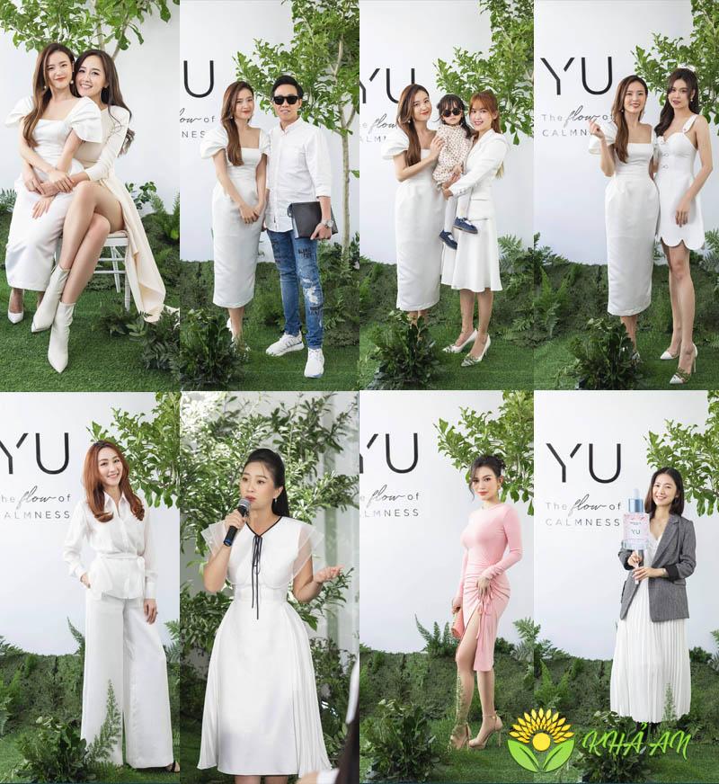 Nghệ sĩ tin dùng Yu Cosmetics của CEO Midu