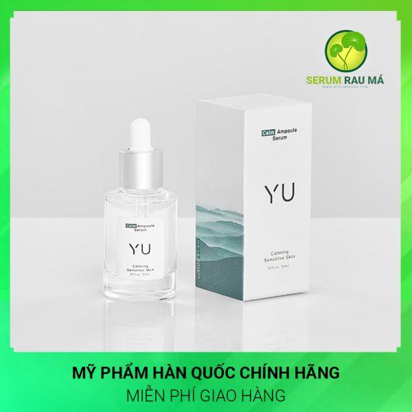 Serum rau má phục hồi da hư tổn Yu Cosmetics