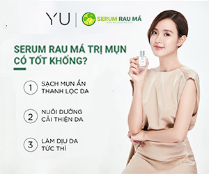 Serum Rau Má quảng cáo widget