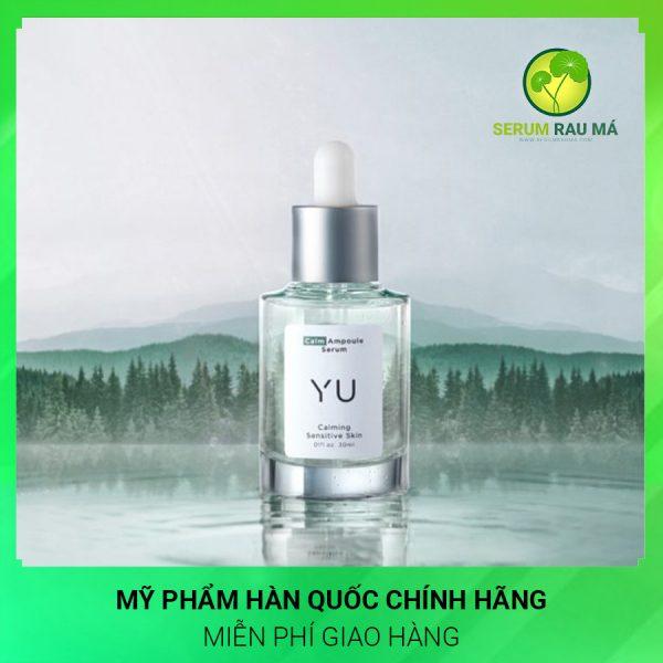 Serum rau má trị thâm Yu Cosmetics