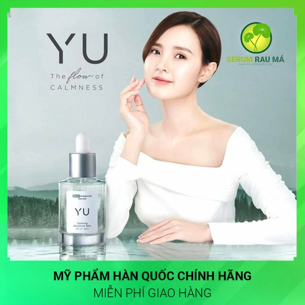 Serum rau má Yu Cosmetics