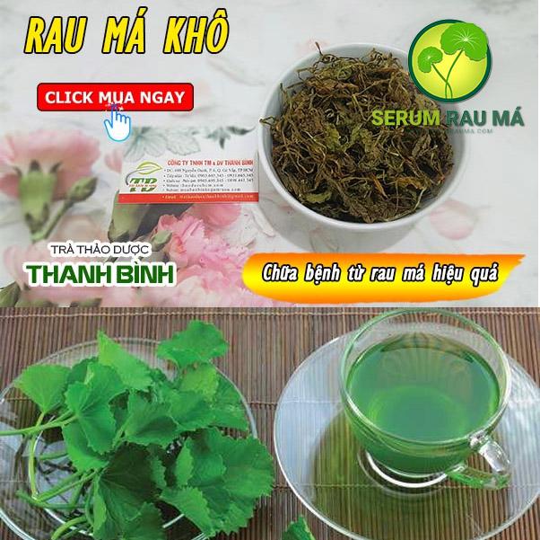Rau má khô nguyên chất Thanh Bình