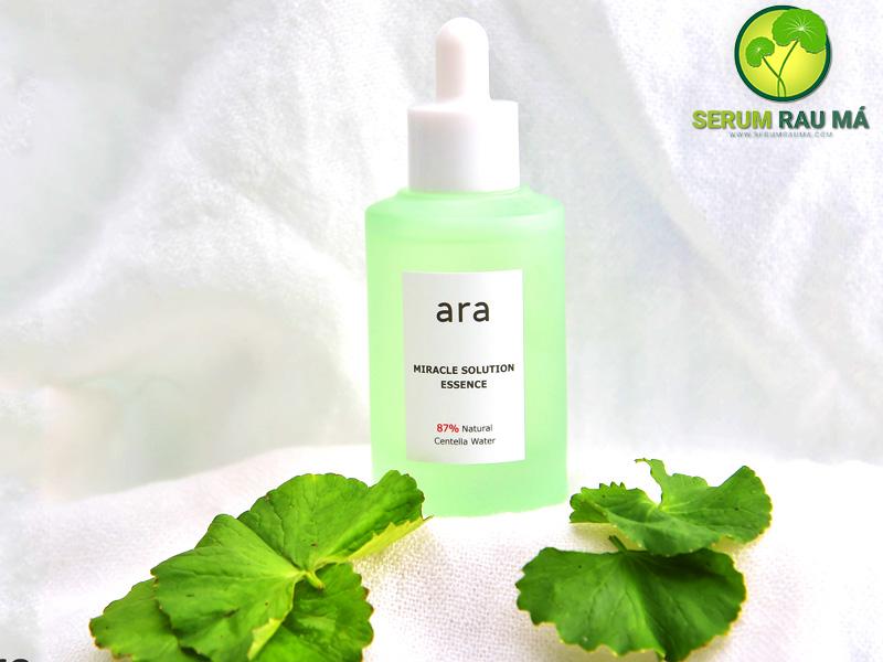 Serum rau má ARA Miracle Solution Essence