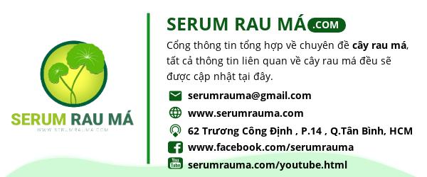 Serum Rau Má Banner
