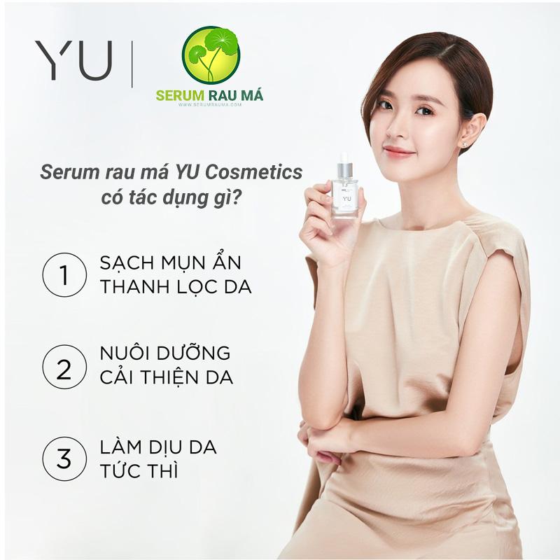 6 tác dụng nội bật của Serum YU Cosmetics