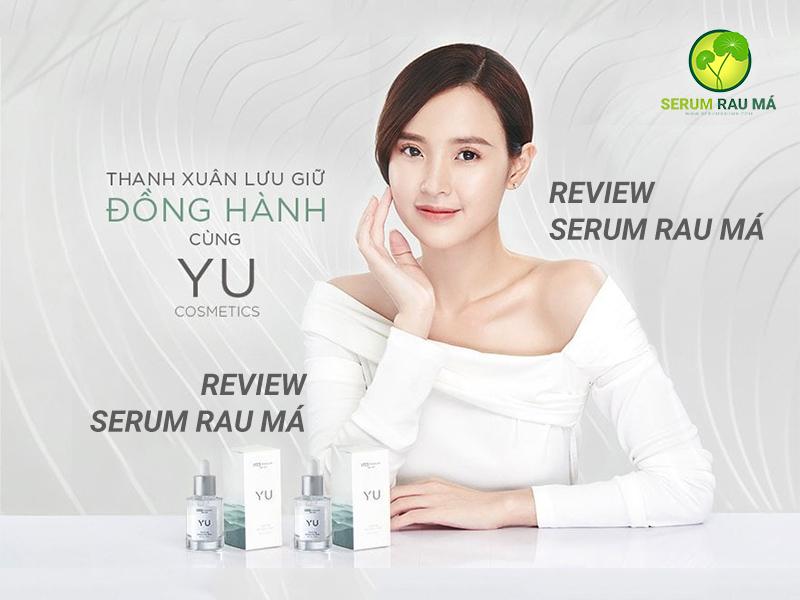 Serum rau má YU Cosmetics có tốt không
