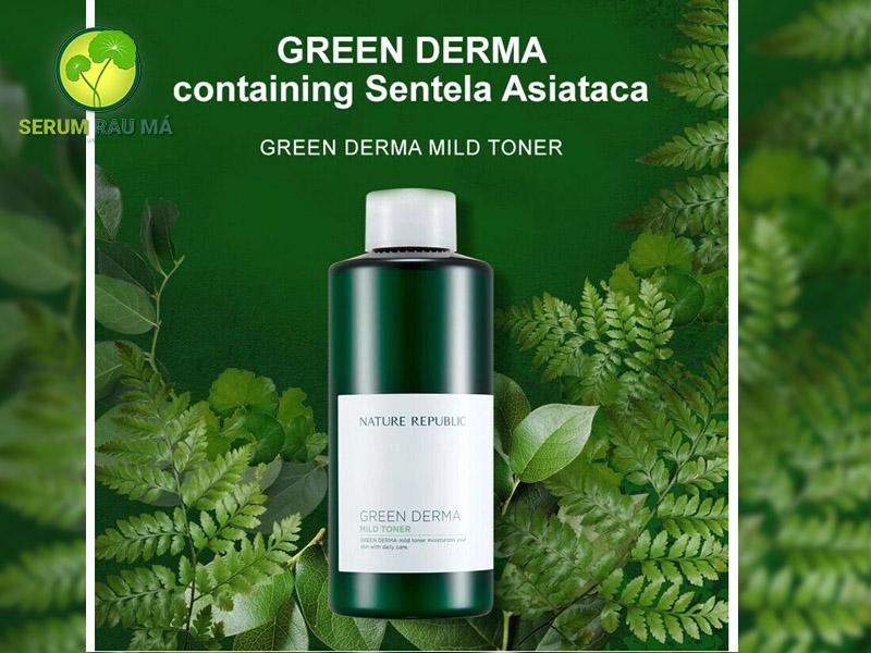 Toner NATURE REPUBLIC Green Derma Mild