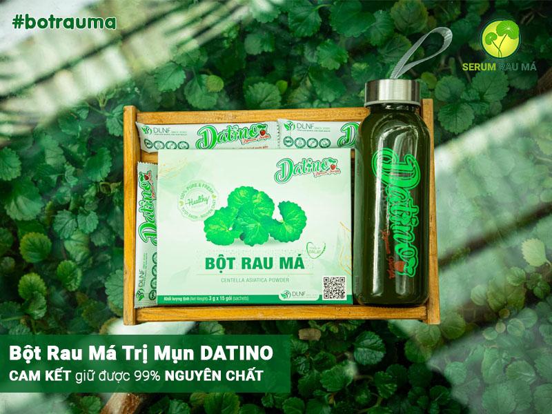 Công dụng của bột rau má DATINO