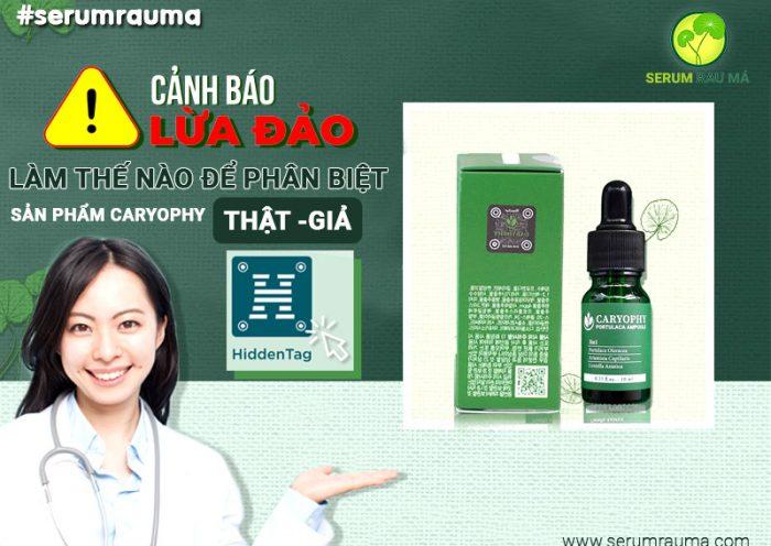 Mua serum Caryophy chính hãng