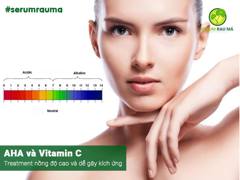 AHA và Vitamin C