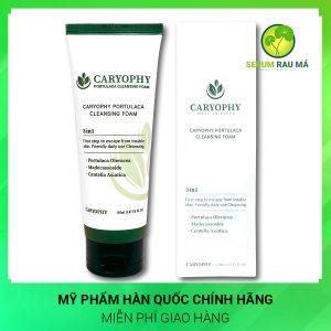 Sữa rửa mặt Caryophy Portulaca Cleansing Foam 150ml